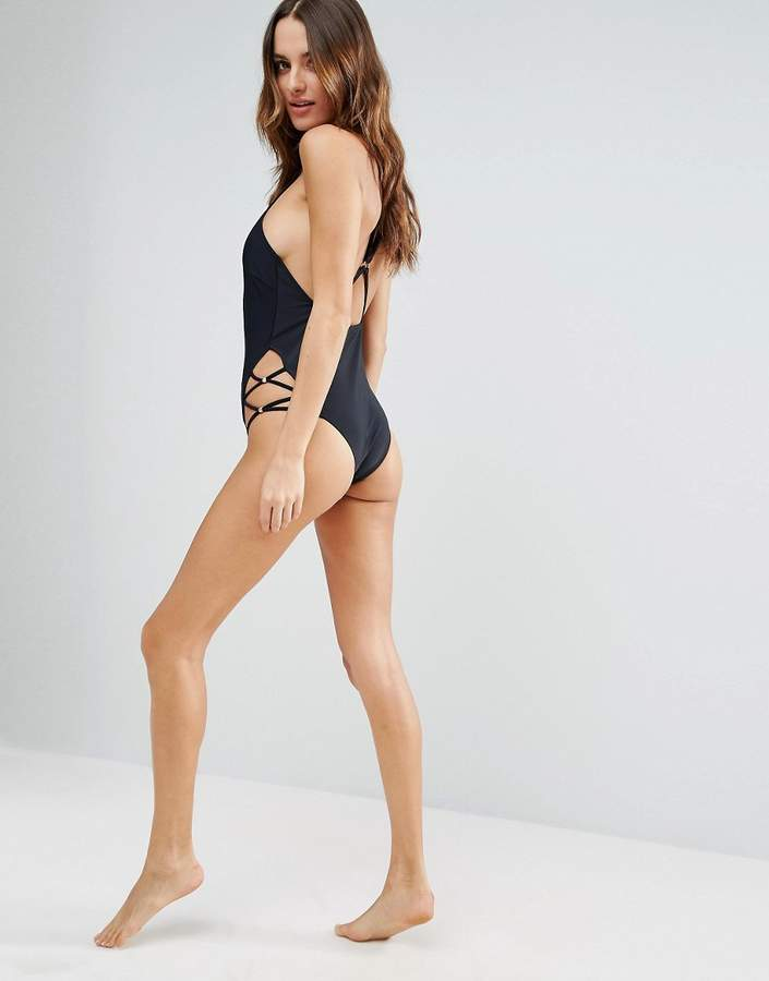 MinkPink Strappy Swimsuit