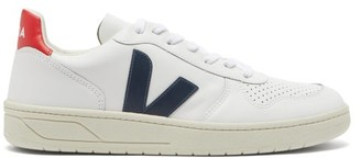 Veja V-10 Low-top Leather Trainers - White Multi