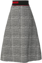 Fendi midi embroidered skirt - women - Silk/Wool - 42