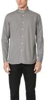 Marc Jacobs Micro Stripe Mandarin Collar Shirt