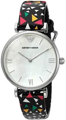 Emporio Armani Women's AR1995 Fashion Multi Leather Quartz Watch