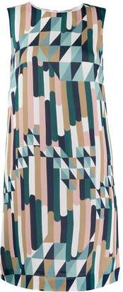 M Missoni printed midi dress