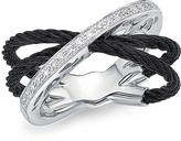 Alor Diamond Multi-Band Cable Ring