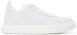 Giuseppe Zanotti White Moxie Blabber Sneakers