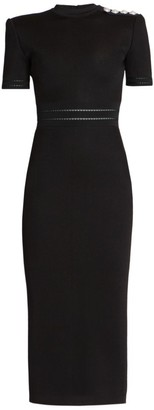 Balmain Knit Midi Dress