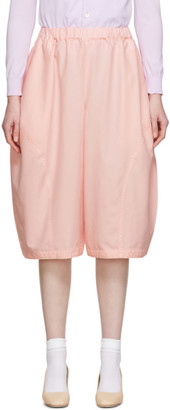 Comme des Garcons Pink Oxford Trousers