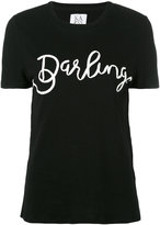 Zoe Karssen Darling T-shirt - women - Cotton/Linen/Flax - M