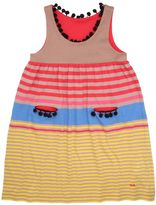 Sonia Rykiel Striped Cotton Blend Jersey Dress