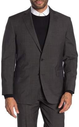 Brooks Brothers Brown Plaid Two Button Notch Lapel Suit Separates Blazer