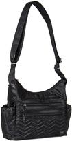 Lug Midnight Black Camper Crossbody Bag