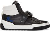 Fendi Black Karlito High-Top Sneakers