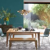 west elm Anderson Solid Wood Expandable Dining Table - Raw Acacia