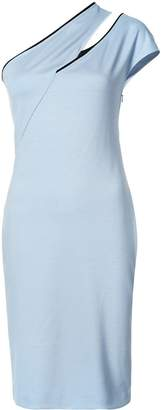 Thierry Mugler cut out one-shoulder dress