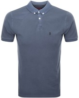 Luke 1977 Basking Polo T Shirt Navy