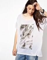 Cheap Monday Printed T-Shirt