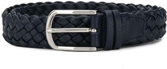 Orciani Braided Style Buckle Belt