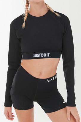 Nike Sportswear Ribbed Long Sleeve Top