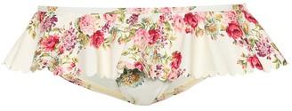 Zimmermann Honour floral bikini bottoms