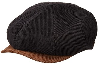 Brixton Brood Cord Snap Cap (Bison/Black) Caps