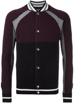 Givenchy colour block knitted jacket