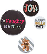 Asstd National Brand Naughty Nice Pins