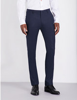 Paul Smith Checked slim-fit wool trousers