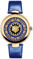 Versace Mystique Foulard Round Rose Gold PVD Watch, 38mm