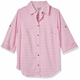 Bass G.H. & Co. Women's Light Weight Slub Stripe Shirt