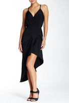 BCBGeneration Strappy Asymmetrical Knit Dress