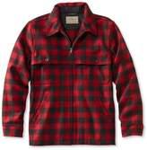 L.L. Bean Men's Maine Guide Zip-Front Jac-Shirt, Plaid