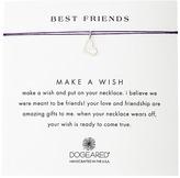 Dogeared Best Friends Heart Make A Wish Necklace