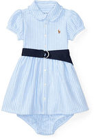 Ralph Lauren Girl Knit Oxford Dress & Bloomer