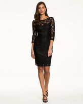 Le Château Lace Scoop Back Cocktail Dress