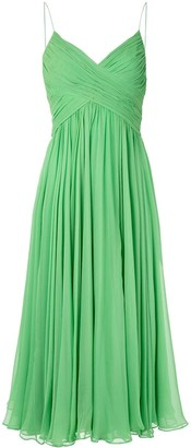 Alexis Sarrana pleated dress