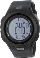 Soleus Men's SR010001 Ultra Sole Digital Dial with Black Polyurethane Strap Watch