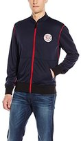 True Religion Men's Zip Up Track Jacket