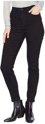 Liverpool Bridget Ankle in Silky Soft Stretch Denim in Black Rinse (Black Rinse) Women's Jeans