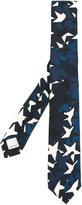 Valentino Garavani camouflage stars print tie