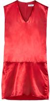 Jil Sander Satin Dress - Red