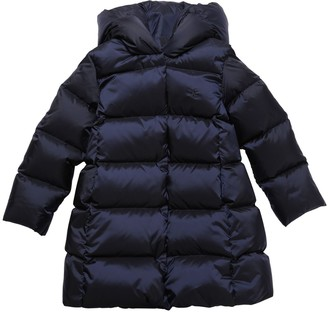 Ralph Lauren Padded Nylon Coat W/ Hood