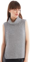 Sole Society Turtleneck Sleeveless Top