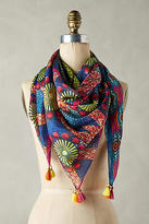 Anthropologie Bindya Silk Scarf