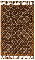 Karma Living Tumeric Agdir Natural Handmade Jute and Wool Rug