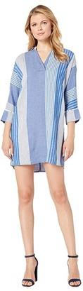 Nic+Zoe Fiji Linen Dress (Multi) Women's Dress