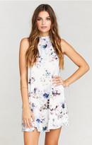 MUMU V-Right Back Mini Dress ~ Bouquet Beauty
