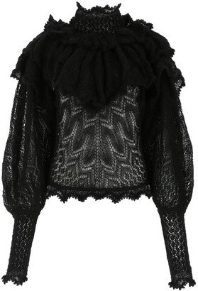Zimmermann Ruffle-Detailed Sweater