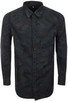 G Star Raw Long Sleeve Stalt Denim Shirt Green