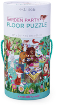 Crocodile Creek Garden Party 50-Piece Canister Puzzle