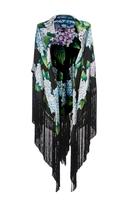 Dolce & Gabbana Floral-Print Silk-Blend Kaftan