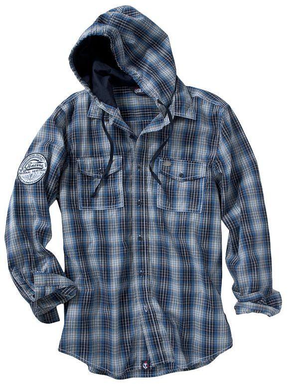 Generra plaid hoodie